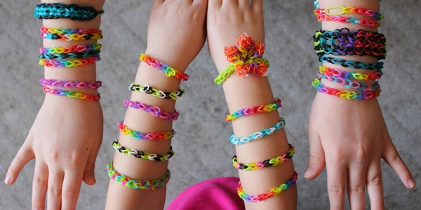 Rainbow Loom, a febre DIY!
