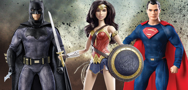 Batman vs Superman: As melhores Barbies do universo!