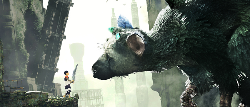 Novo video gameplay de The Last Guardian!