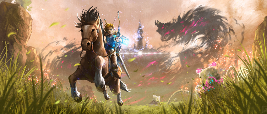 Novos videos de The Legend of Zelda: Breath of the Wild!