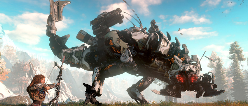 Horizon: Zero Dawn ganha trailer com a nova engine!
