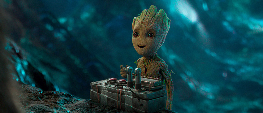 Guardiões da Galáxia Vol. 2 | Baby Groot estampa novo cartaz internacional!