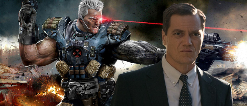 DEADPOOL 2 | Michael Shannon pode viver Cable no longa!
