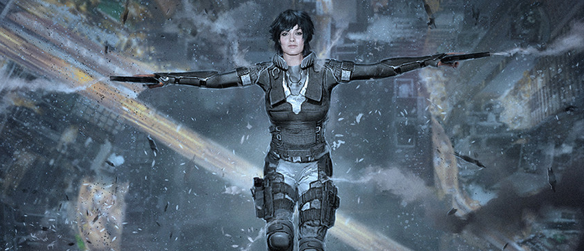 GHOST IN THE SHELL | Artes conceituais do longa mostram como seria Margot Robbie como Major!