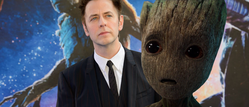 GUARDIÕES DA GALÁXIA VOLUME 2 | James Gunn revela ter feito a captura de movimentos de Baby Groot!