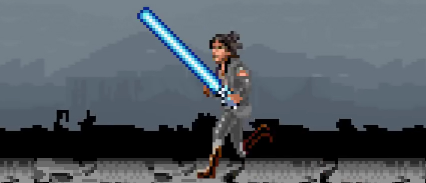 STAR WARS: OS ÚLTIMOS JEDI | Primeiro trailer do filme foi recriado no formato 8-bit!