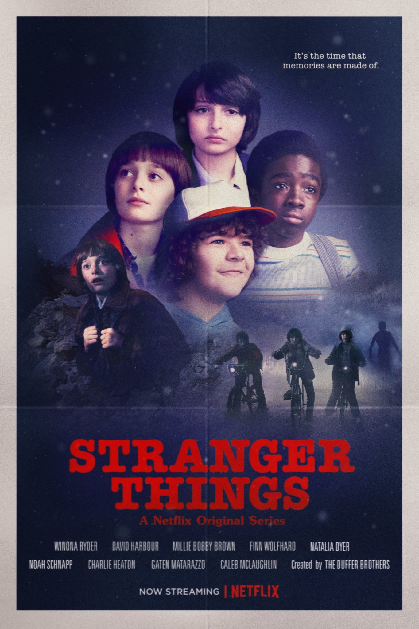 Poster Stranger Things Temporada 2 Conta Comigo