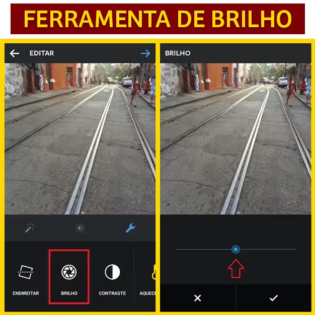 FERRAMENTA DE BRILHO INSTAGRAM