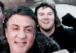 Imagine fazer um selfie com o ROCKY!