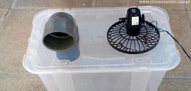 Tá calor? Aprenda a fazer um ar condicionado caseiro!