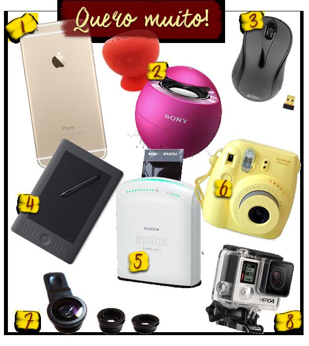 gadgets que eu quero em 2015