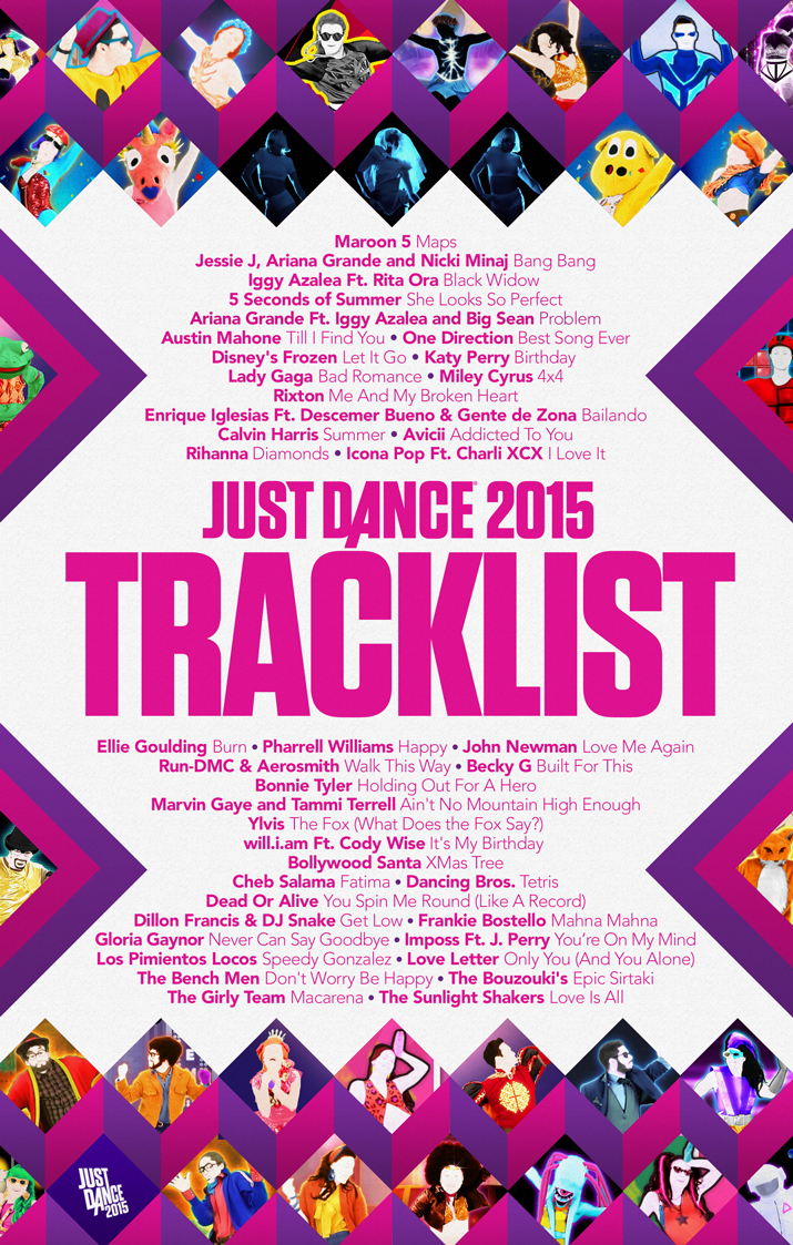 músicas just dance 2015