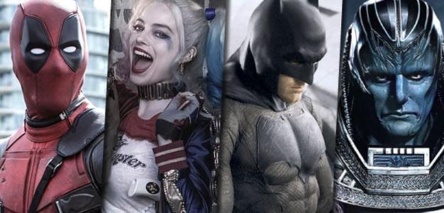 Calendário Marvel e DC para o cinema!