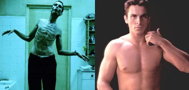 Eles transformaram seus corpos para filmes!