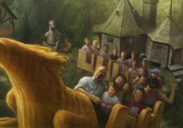 Hogwarts chega ao Universal Studios Hollywood em abril!