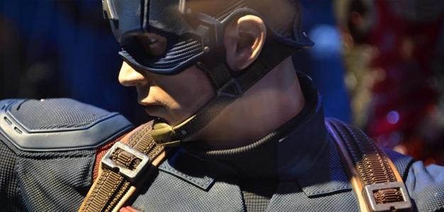 Tem edição limitada do Capitão América na Iron Studios!