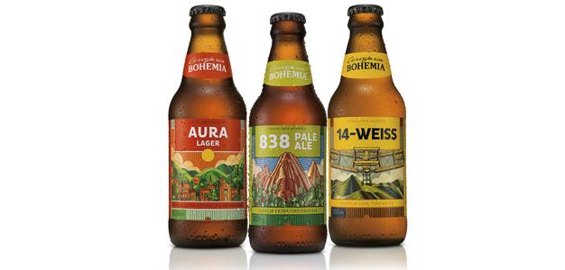 Cerveja Bohemia se inspira em Petrópolis para novos rótulos!