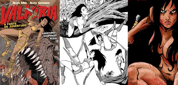 5 quadrinhos nacionais com bastante #GirlPower!