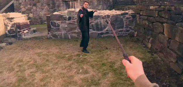 Harry Potter POV: Você na pele de um jovem bruxo!