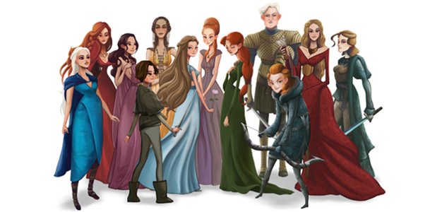 Game of Thrones: Um seriado de mulheres fortes!