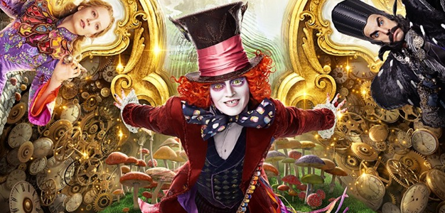 Alice Através do Espelho: Cenas exclusivas!