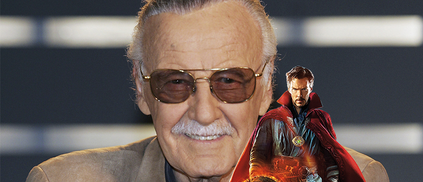 Saiba como Stan Lee aparecerá em Dr. Estranho!