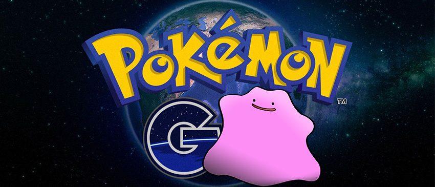 O impossível Ditto foi achado em Pokémon GO?