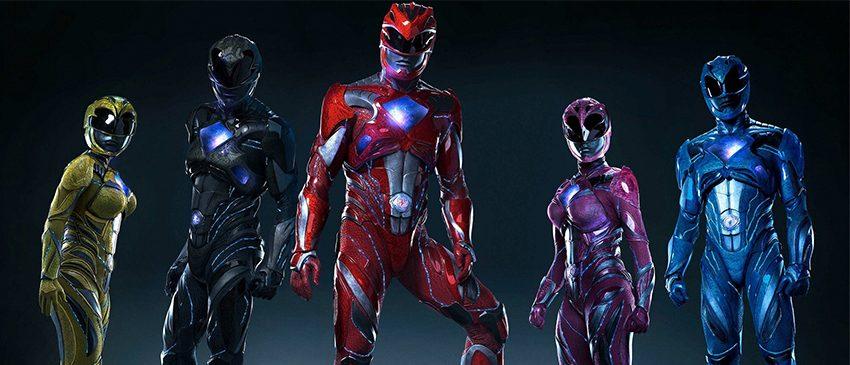 Agora podemos ver detalhes dos novos Power Rangers!