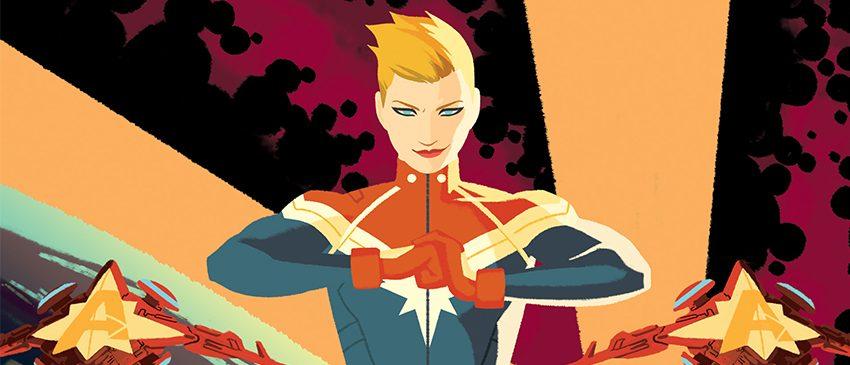 O posto de mais forte nos cinemas será da Capitã Marvel!
