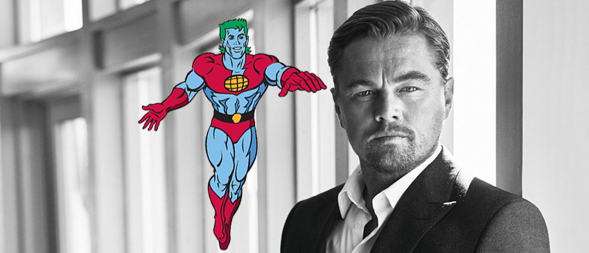 Leonardo DiCaprio e o Capitão Planeta!