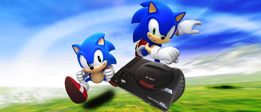A nostalgia bate forte com o relançamento do Mega Drive!