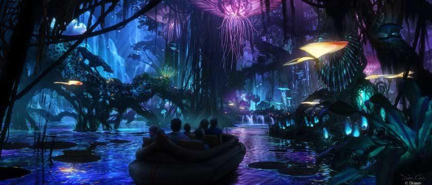 Disney divulga imagens do parque inspirado em Avatar!