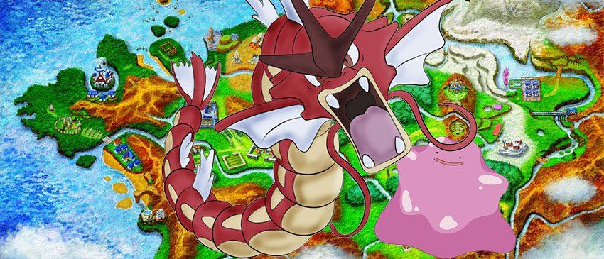 Ditto, versões Shiny e mais em Pokémon GO!