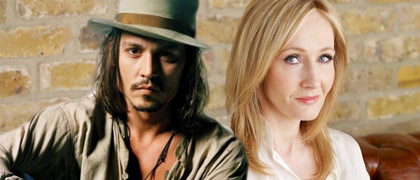 J.K. Rowling está feliz com Johnny Depp em Animais Fantásticos 2!