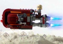 Quando Lego ganha vida e o nosso coração!