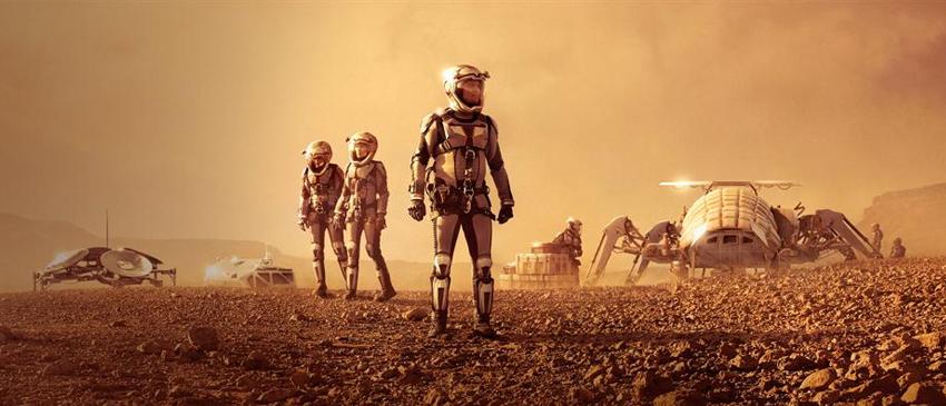 Explore Marte com a Nat Geo!