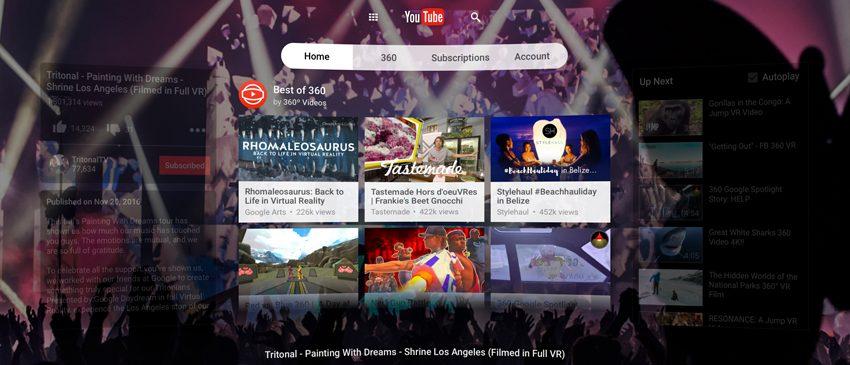 Youtube entra de vez na realidade virtual com o lançamento do Youtube VR!