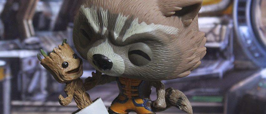 Rocket Racoon e Groot numa animação FOFÍSSIMA!