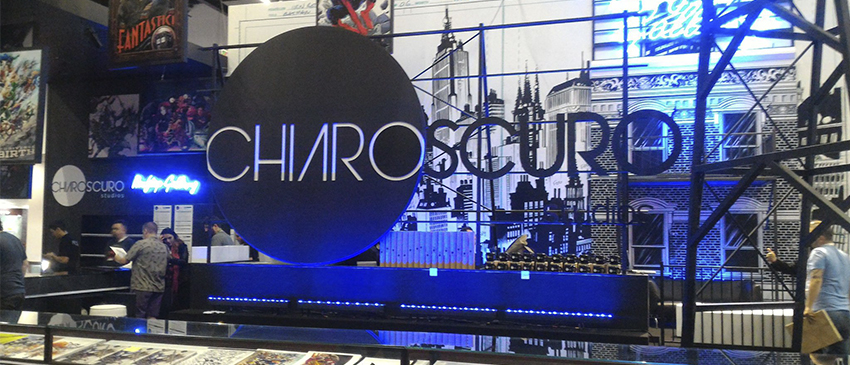 Chiaroscuro na CCXP tem rascunhos originais da Marvel e DC!