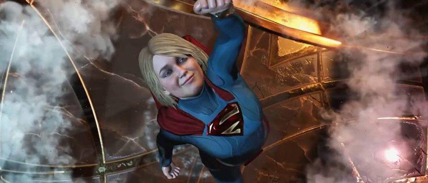Injustice 2 | Novo gameplay mostra mais detalhes da Supergirl!