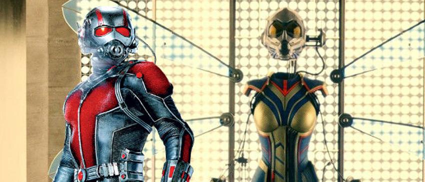 Homem-Formiga e a Vespa   Novo membro na equipe de efeitos visuais!
