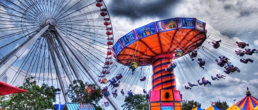 6 Tecnologias incríveis utilizadas em parques de diversão!