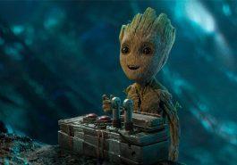Guardiões da Galáxia Vol. 2   Baby Groot estampa novo cartaz internacional!