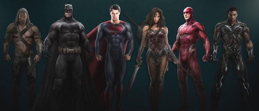 Liga da Justiça | DC revela linha de action figures premium do longa!