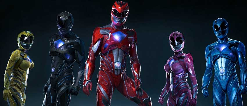 Power Rangers | Rangers e Zords juntos no novo cartaz internacional!