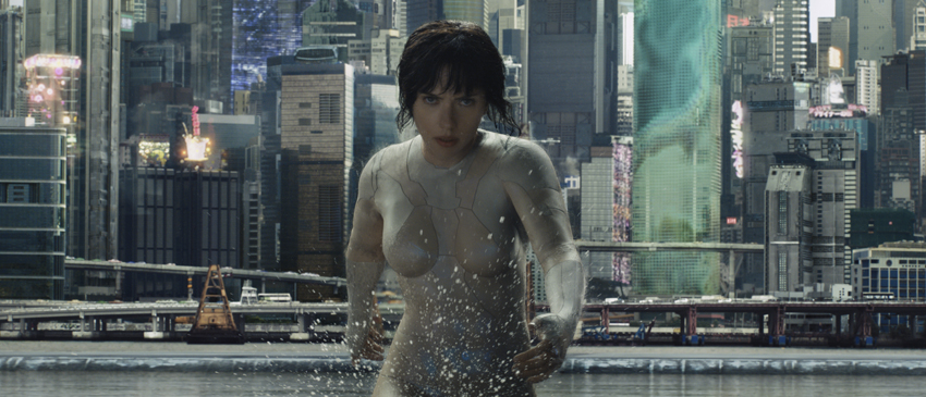 Ghost in the Shell | Cenas do filme serão exibidas no Super Bowl!