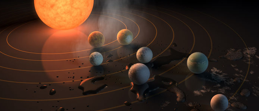 NASA descobre novo sistema com planetas parecidos com a Terra!