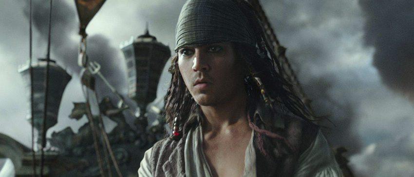 Piratas do Caribe: A Vingança de Salazar | Novas imagens mostram Jack Sparrow jovem!