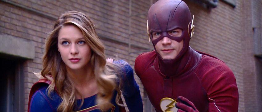 Séries | Novas imagens do crossover entre The Flash e Supergirl são reveladas!