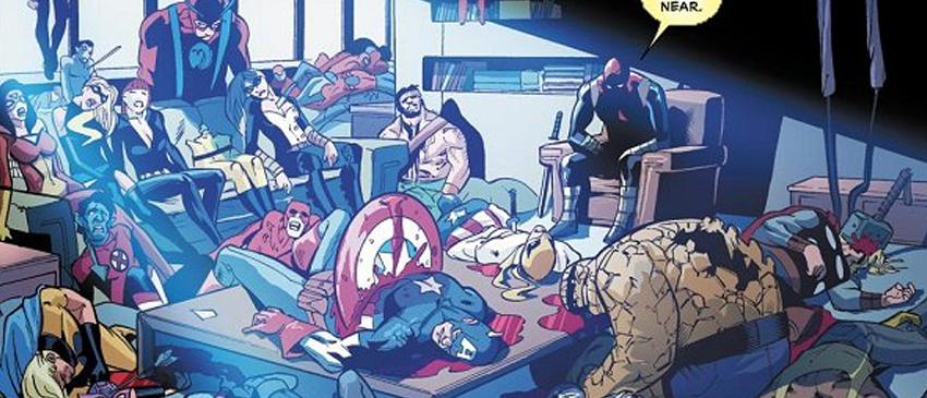 MARVEL | Deadpool irá matar todo o universo mais uma vez em nova mini-série!